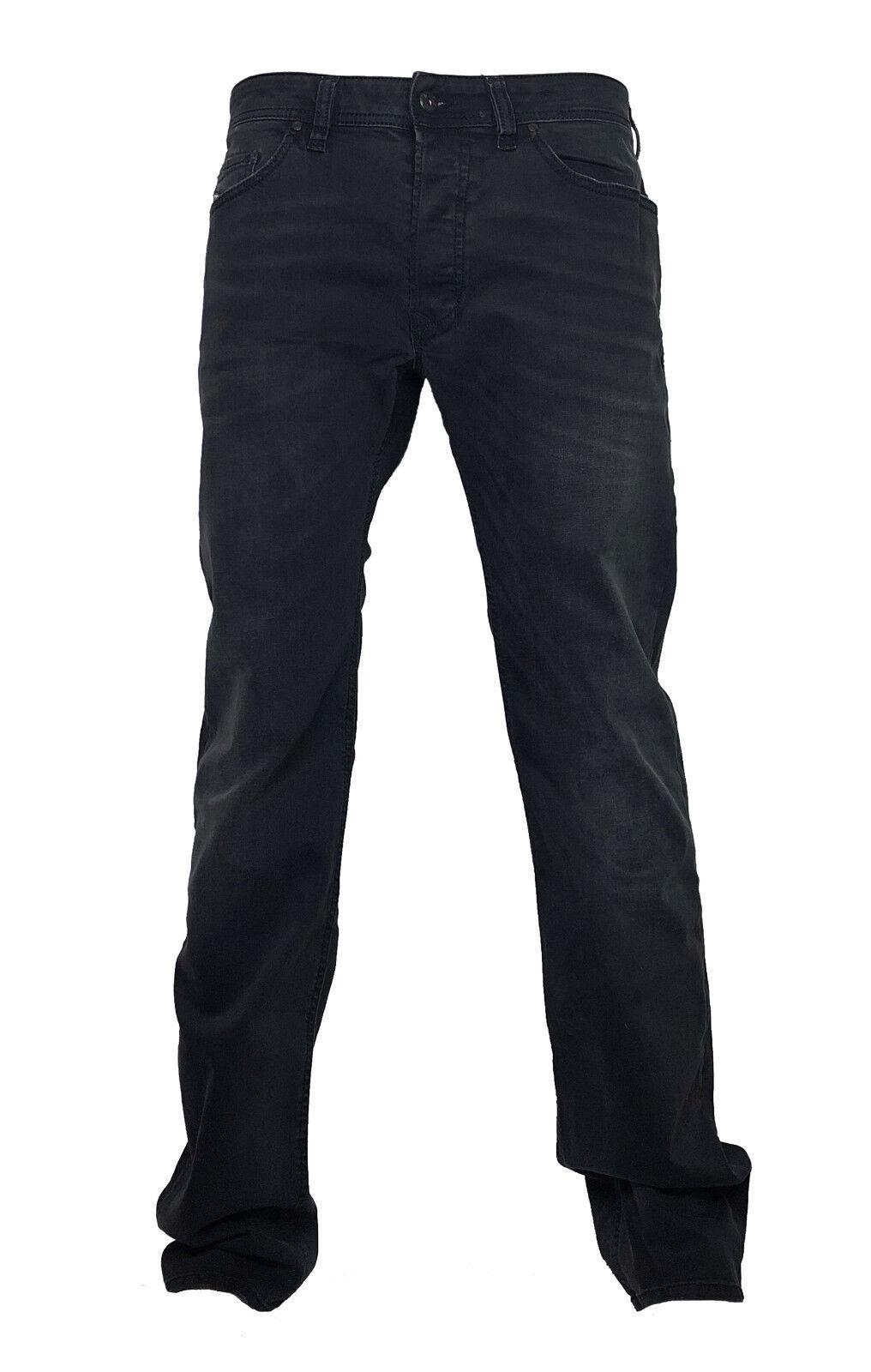 Diesel Herren Stretch Jeans SAFADO RA468 anthrazit verwaschen Gr. 38 32 NEU