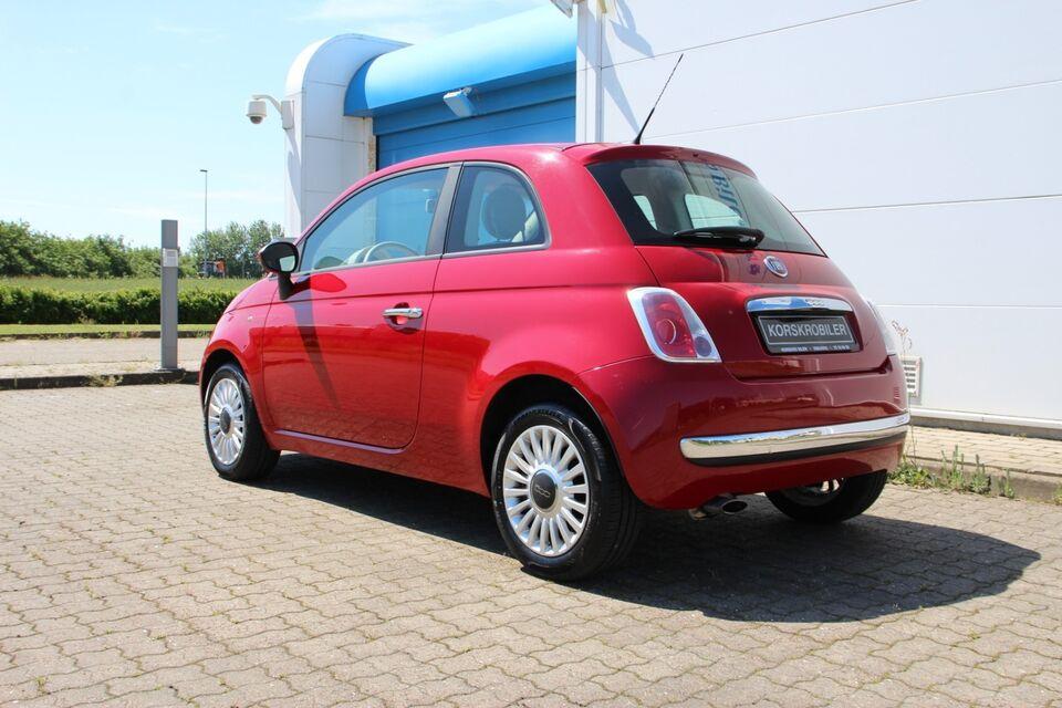 Fiat 500 1,2 Pop Benzin modelår 2008 km 172000 Rød nysynet