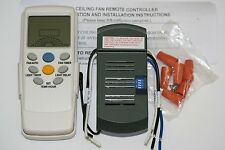 Universal Thermostatic Ceiling Fan and Light Remote Control Conversion Kit, New