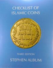 A CHECKLIST OF ISLAMIC COINS - 3RD EDITION - 2011 - STEPHEN ALBUM - SPIRAL-BOUND