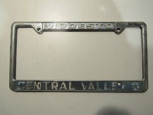 Central Valley Dodge >> Details About Modesto Central Valley Chrysler Dodge Plymouth Dealership License Plate Frame Ca