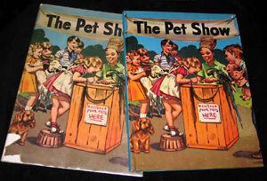 1944-Barrows-THE-PET-SHOW-w-DJ-HC-Childrens-Book-GOOD-CONDITION