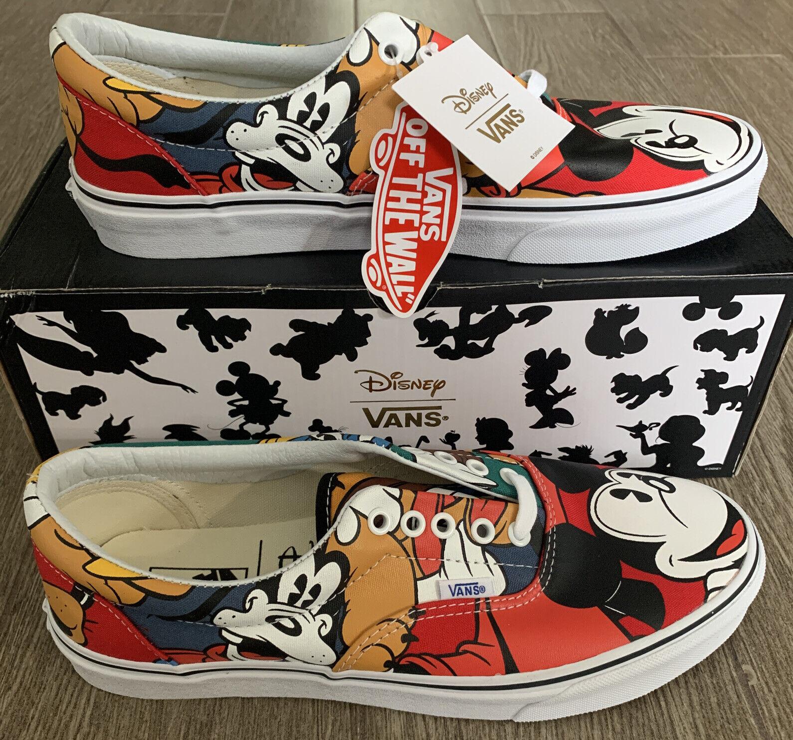 Vans X Disney Mickey \u0026 Friends Size 10