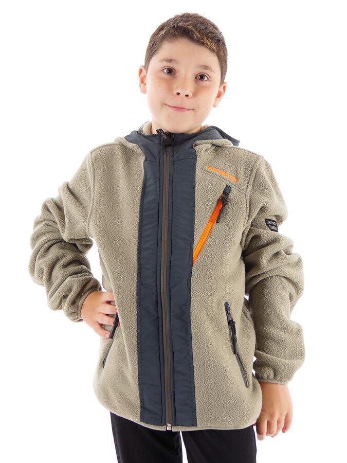 Brunotti Fleece Jacket Veste Fonctionnelle Veste D extérieur Tarquinia Vert Warm