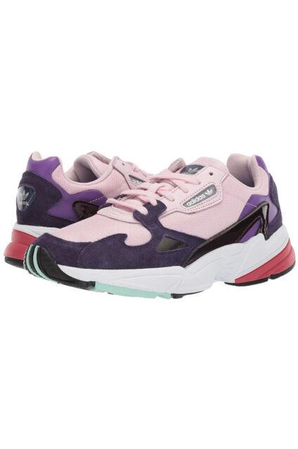 6.5 - adidas Falcon Clear Pink Purple