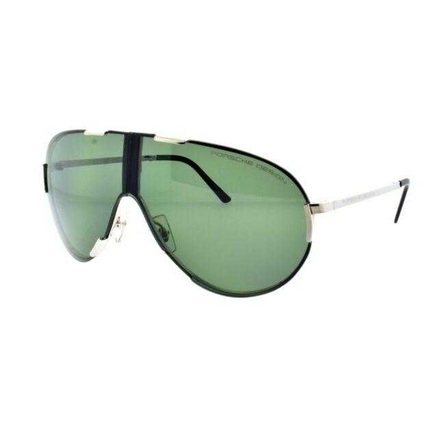803efda9f7a5 Porsche Design P' 8486 B Full Rim - Foldable Silver Single Lens Men  Sunglasses