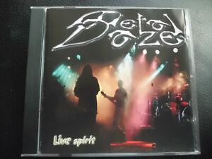 Metal-Daze-Live-Spirit-CD-2001-heavy-metal-Self-released-RARE