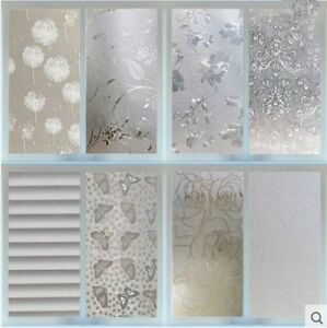 Fashion Waterproof Frosted Privacy Bedroom Bathroom Window