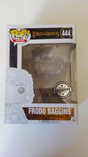 Frodo Baggins Invisible 444 Lord of the rings Signore degli Anelli Funko POP