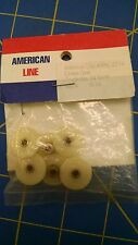 One AML2534 Crown Gear 34T White 1/24 slot car from Mid America Raceway