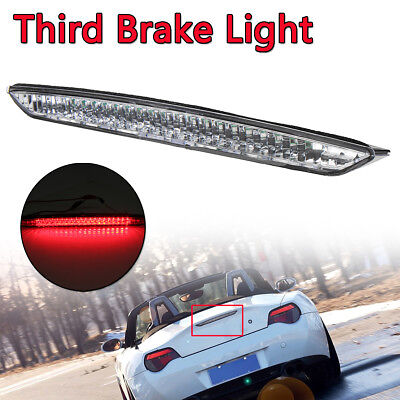Clear Len Trunk Third Brake Stop Tail Light White Color For BMW E85 Z4 2003-2008