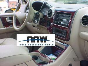 Ford Expedition Interior Wood Dash Trim Kit 2003 2004 2005 2006 Xlt Eddie Bauer Ebay