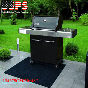 Image Is Loading The Gas Grill Splatter Barbecue Mat Reversible Protective