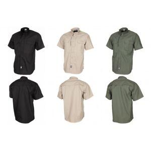 MFH-High-Defence-Hemd-Attack-kurzarm-Teflon-Rip-Stop-Herren-Freizeithemd-Outdoor