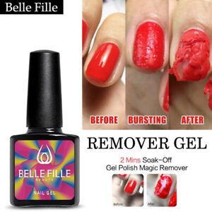 BELLE-FILLE-NEW-Burst-Magic-Remover-Soak-Off-Gel-Polish-Nail-Art-Clean-Degreaser