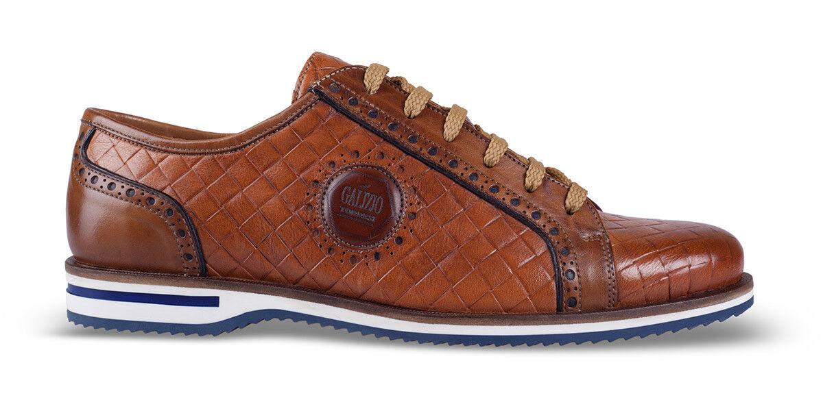 GALIZIO TORRESI 317080S scarpa uomo pelle cuoio fondo gomma made in Italy