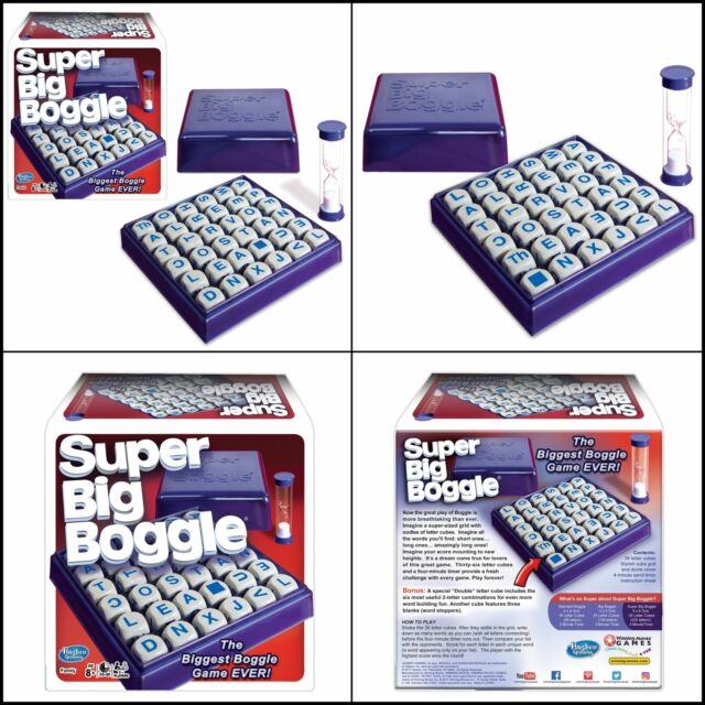 Super Big Boggle Word Scramble Board Game by Winning Moves