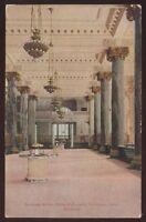 Postcard CHICAGO Illinois/IL  Corn Exchange National Bank Interior view 1907?