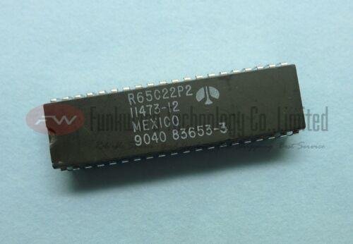 Rockwell R65C22P 65C22 6522 8-BIT Microprocessor DIP40 x 10pcs