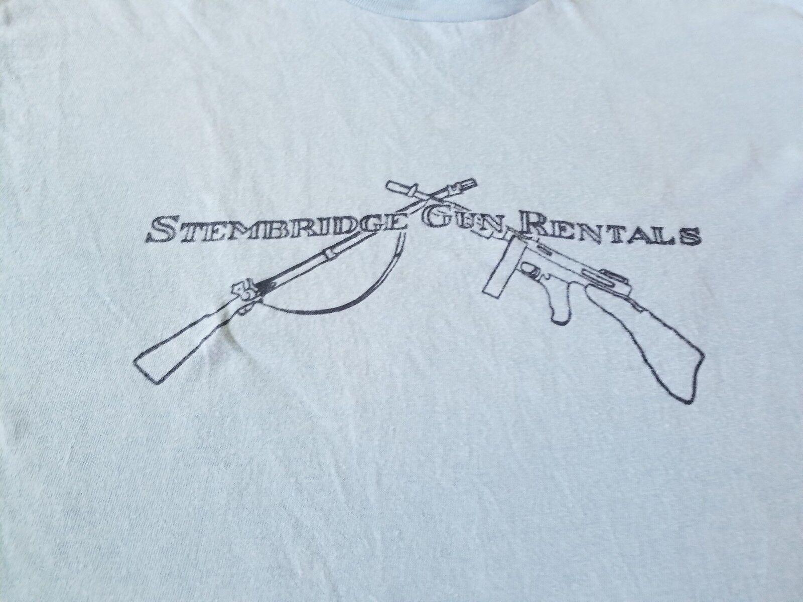 STEMBRIDGE GUN RENTALS VINTAGE 1978 TEE SHIRT CLEAN