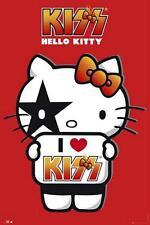 Hello Kitty: I Love Kiss-Maxi Poster 61cm X 91,5 Cm (nuevo Y Sellado)