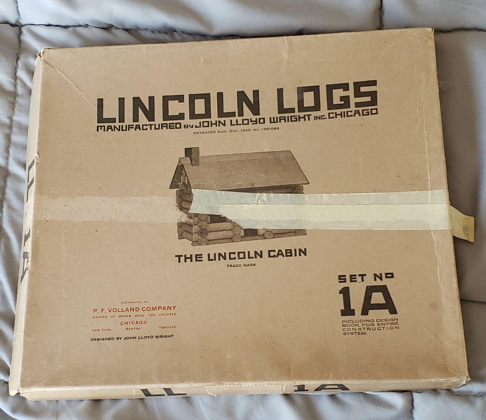 Hay más marcas de productos de alta calidad. 1922 Vintage Vintage Vintage Lincoln Logs Set 1A en Caja Original Con Libro De Diseño  Ven a elegir tu propio estilo deportivo.