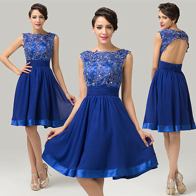 NEW SHORT COCKTAIL PROM DRESS CASUAL HOMECOMING PARTY EVENING BRIDESMAID DRESSES