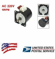Us Ship 60ktyz Permanent Magnetic Synchronous Motor 220 - 240v 14w 10rpm
