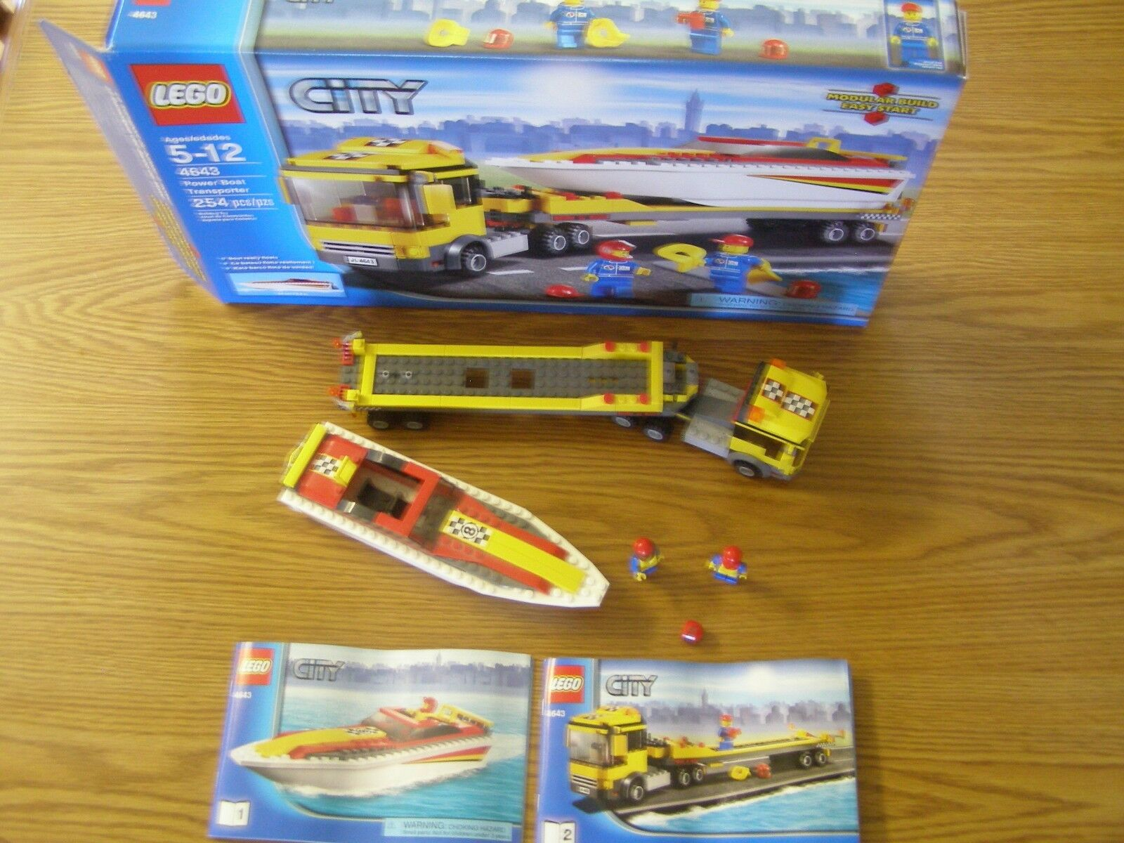 Lego Power Boat Transporter (4643)