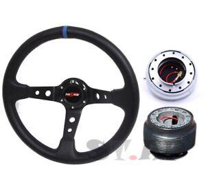 Gold Quick Release Godsnow Black Yellow Steering Wheel Hub For 90-97 Miata