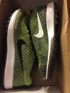 a75c31f525363 Womens Nike Flyknit Racer Golf Shoes Size 11 (909769 700) No Box ...