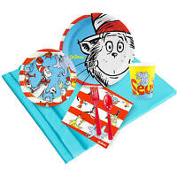 Dr Seuss Party Pack For 32, Cat In The Hat Class Party, Read Across America Day