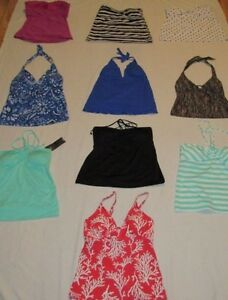 NEW-MERONA-MOSSIMO-SIZE-XS-SMALL-MEDIUM-LARGE-TANKINI-SWIMSUIT-TOP-PICK-FAVORITE