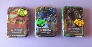alle-3-MINI-TIN-BOXEN-Lego-Ninjago-Trading-Card-Game-Serie-4