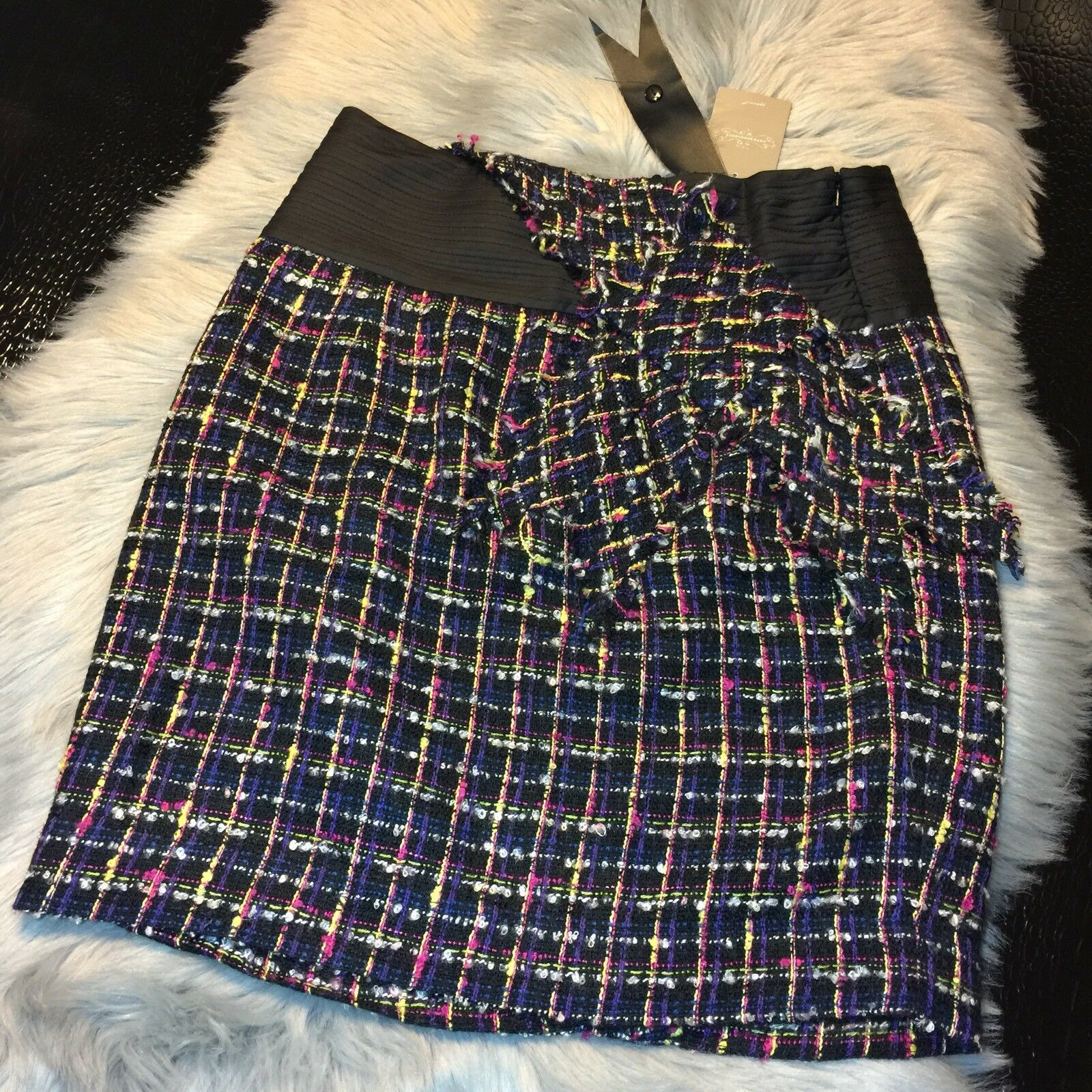 NWT Anthropologie Skirt Multicolord Size 8 Retails  98 Super CUTE