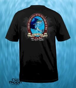 New-Salt-Life-Marlin-Lunch-Break-Mens-Pocket-T-Shirt