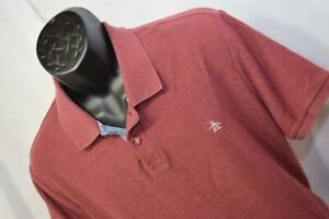 28319-Mens-Penguin-MunsingWear-Classic-Fit-Red-Golf-Polo-Shirt-Size-Large
