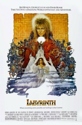 28cm x43cm Labyrinth Movie Poster 11x17 Mini Poster