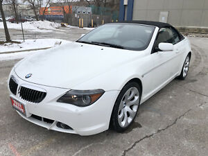 2005 BMW 6 Series 645Ci Coupe|Navi|Leather|Accident Free|
