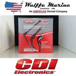 OEM New MerCruiser 4.3 liter V6 Spark Plug Ignition Wires Kit 84-816761Q16