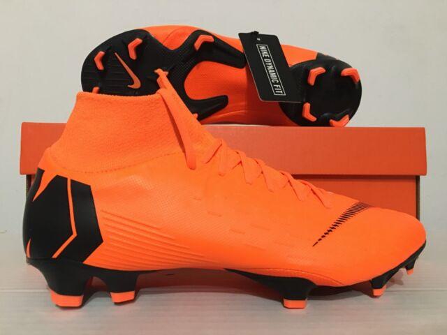 9fb162cc8 Nike Superfly 6 Pro FG Mercurial Soccer Cleats Size 9 Ah7368-810 Orange  Black