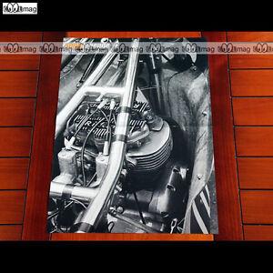 Rickman-triumph Metisse / Vue Gros Plan Sur Moteur - Poster Moto #pm1031 Scwrrikh-08004423-516845457