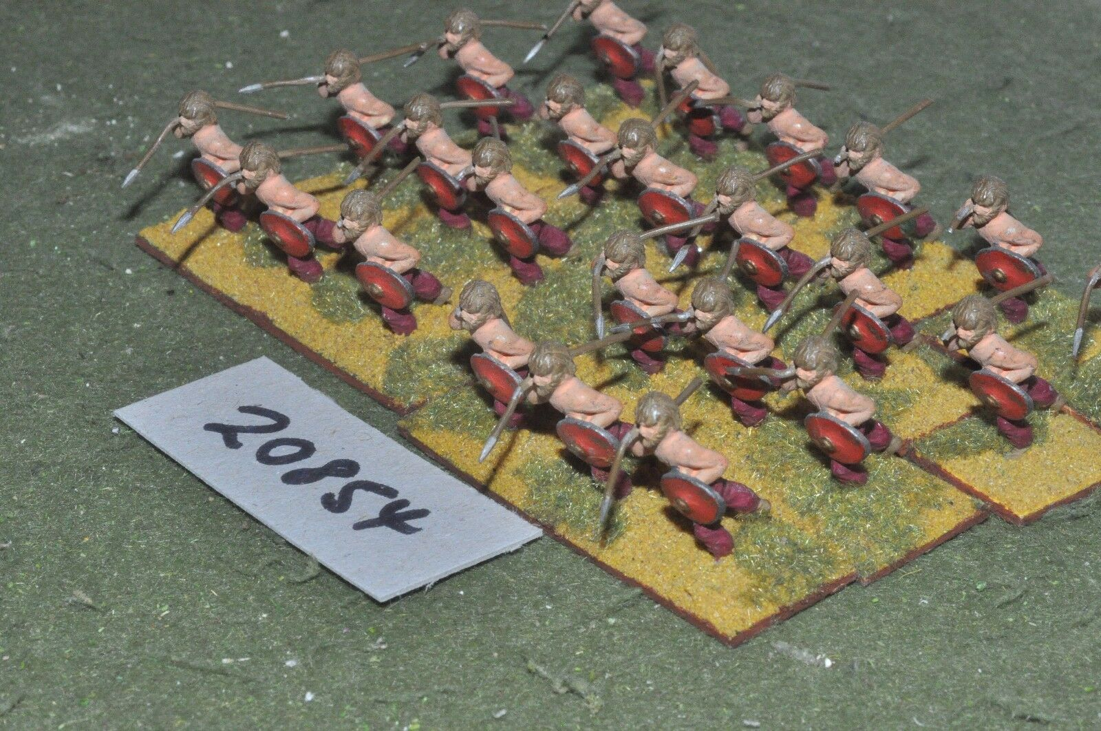 25mm dark ages   viking - warriors 24 figs - inf (20854)