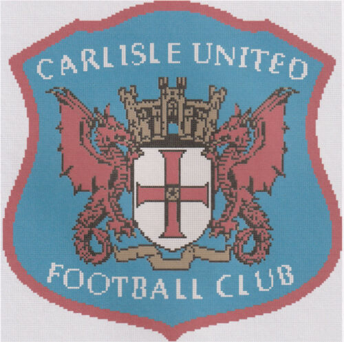 Carlisle United Football Club Counted Cross Stitch Kit