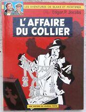 Blake et Mortimer L'affaire du collier EO Française 1967 Flambant Neuf Jacobs