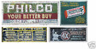 N Scale Ghost Sign Decals #42- Weather Your Buildings & Structures!