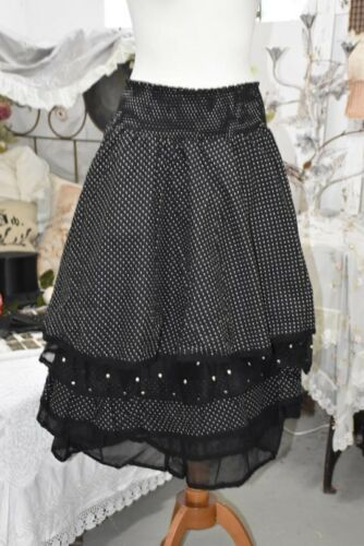 Ours Madeleine Les Noir Skirt Rock Pois Organza 0SP6dqPB