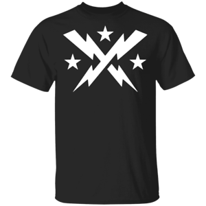 Washington DC Defenders XLF Logo Mens Short Sleeve T-Shirt Black Cotton Tee