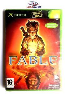 Fable-Xbox-Neuf-Scelle-Videogame-Videojuego-Retro-Produit-Nouveau-Pal-Spa