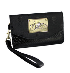 Sullen-Clothing-Womens-iPhone-6-Black-Snake-Icon-Wallet